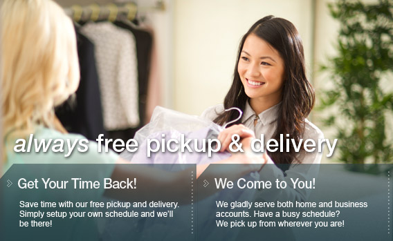 always Free Pickup & Delivery